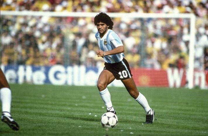 Conmoción mundial: Murió el mejor jugador del mundo Diego Armando Maradona