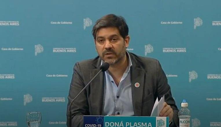 """Bianco: """"Volveremos a la normalidad hacia mitad de año, con el 60% de la provincia vacunada"""""""